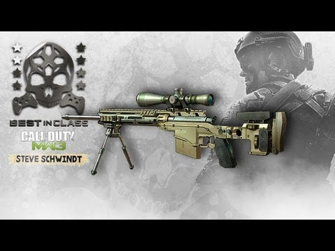 Best in Class - Modern Warfare 3: Best Sniper Class - Aggressive Loadout