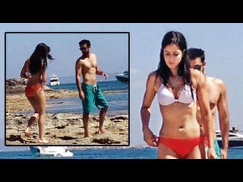 Katrina Kaif Caught In A Bikini With Ranbir Kapoor In Spain video
