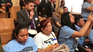The moment the NJ Assembly passes the bill to give DREAMers a chance at financial aid!