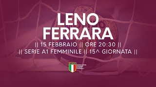 Serie A1F [15^]: Leno - Ferrara 28-26