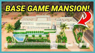 This MANSION requires no DLC at all! (Your Gallery Builds)