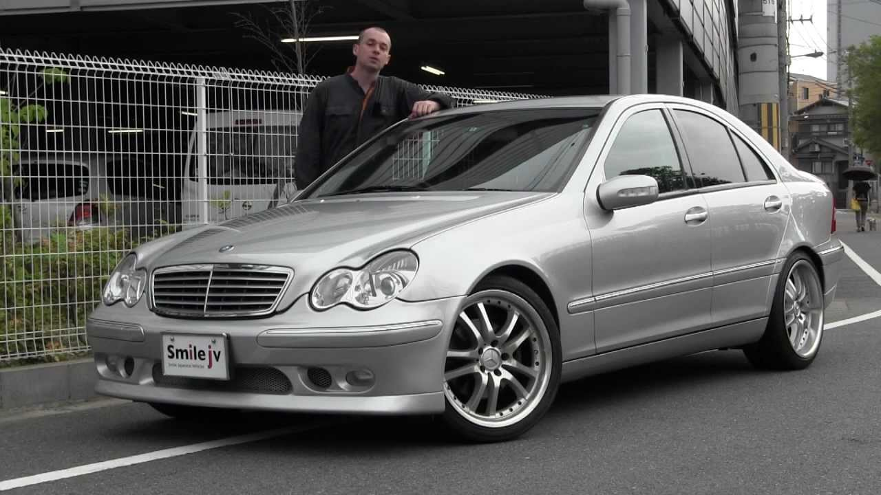 Mercedes benz c240 2000 79900 km youtube for Mercedes benz v6