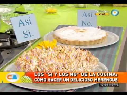 Los sí y los no del merengue