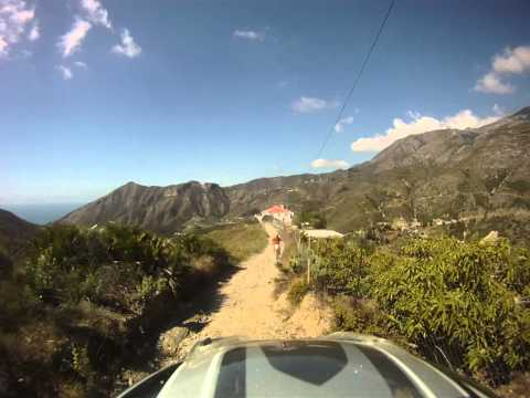 Trail Riding in Spain with Redtread Honda - Day Two (Ed's Footage - 2/8)