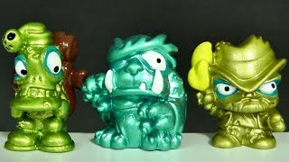 5 ZOMLINGS METALIZADOS EXCLUSIVOS