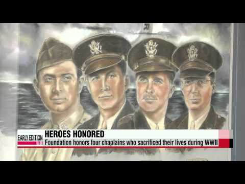Two heroines honored in the U.S. for sacrifices in Sewol-ho ferry tragedy   세월호