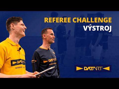 Datart Referee Challenge: Nepovolená výstroj