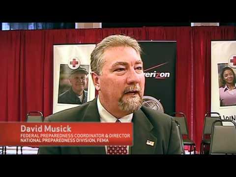 Red Cross, Verizon and FEMA Stress Disaster Preparedness
