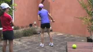 Queenstown Tennis Academy Emilia Volleys with Cara Black