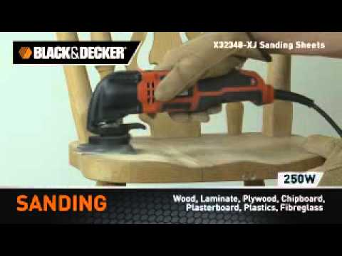 Black & Decker MT250KA Oscillating Multi Tool Power Tool