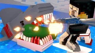 Jaws Movie - The Final Shark Attack! (Minecraft Roleplay) #5 FINALE!