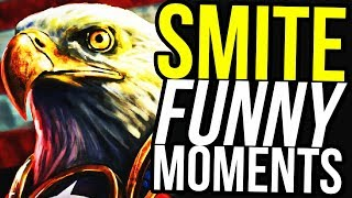 THIS IS RAMERICA! - SMITE FUNNY MOMENTS