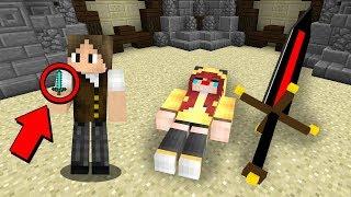 Minecraft: COMO UMA ESPADA DE 6 DE DANO VENCEU UMA ESPADA GIGANTE DE 6000 DE DANO?