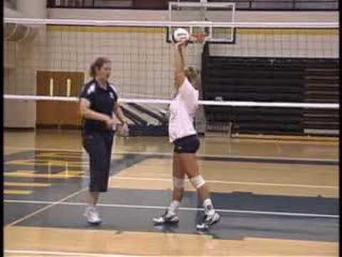 Volleyball: Setting Drills and Fundamentals Video