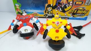 Đồ chơi Võ Thần Giáp Sĩ Bóng Ma Quý Tộc - Spin Fighters gyrocar toy for kids
