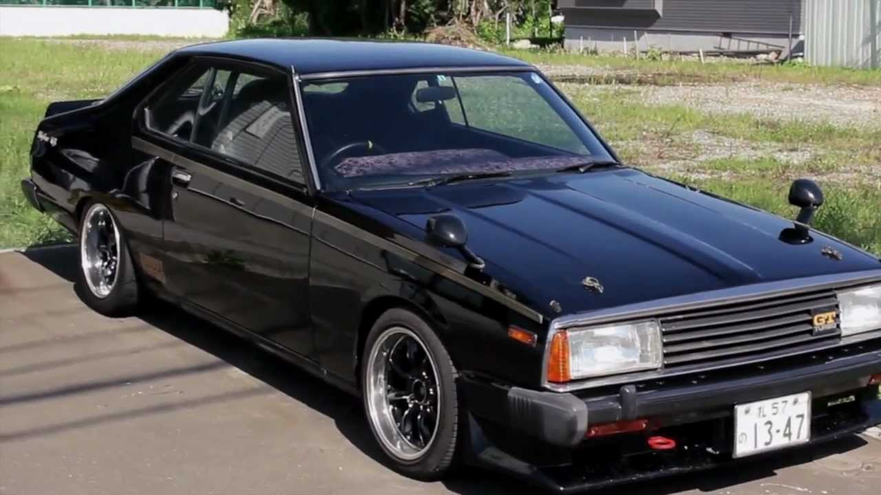1980 Model Jdm Nissan Skyline Youtube