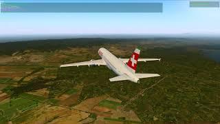 X-Plane 11 - A320 Landing into LOWW ILS 34 - VATSIM