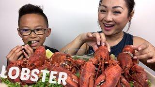 4X LOBSTER   Mukbang   N.E Let's Eat