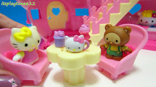 Hello Kitty TEAPOT CAFE PLAYSET Toys Review | itsplaytime612