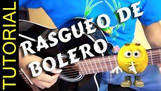 Rasgueo de Bolero en guitarra Ritmo de Bolero