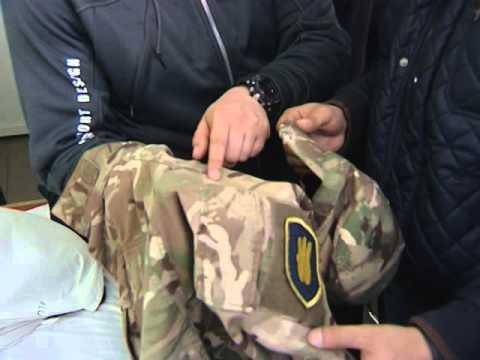 Свободівці провідали поранених побратимів Петра Кузика і Дениса Попова