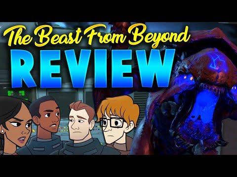 The Beast From Beyond Map Review - Call of Duty: Infinite Warfare Zombies DLC4 (Map Review)