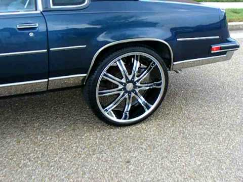 1988 Cutlass Supreme Brougham, 24s,H.I.D.s, Billet Steering Wheels.AVI Music Videos