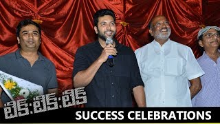 Tik Tik Tik Movie Team Success Meet in Theater | Jayam Ravi | Nivetha Pethuraj