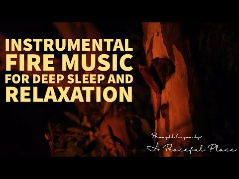 Instrumental Fire Music for Deep Sleep and Relaxation 5 mins