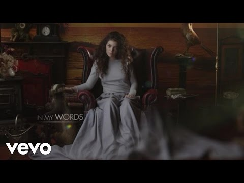 Lorde - In My Words