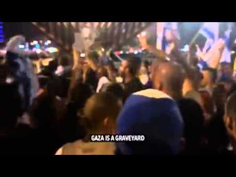Israel Jews celebrating Gaza Zionist . Dead children . Oppression. Hitler missed a few . Extremists