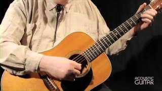 """Ain't No Grave Gonna Hold My Body Down"" by Orville Johnson from Acoustic Guitar"