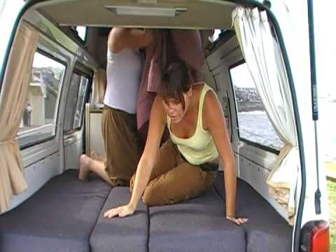 NL CV Converting Bed To Daytime Table | travelwheels campervans