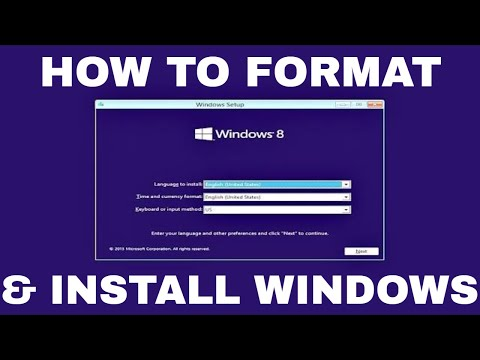Windows 8.1 Formatting and Clean Installation | how to format windows 8.1 with usb