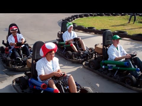 Real Life Mario Kart - Waterloo Labs  - Episode 07