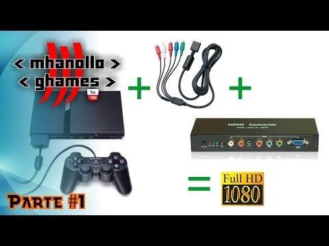 Playstation 2 em alta resolução (720p ou 1080p) com HDMI - [Parte 1].