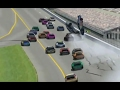 NR2003 Online OpenSpeedway Racing Wrecks/Crashes Video