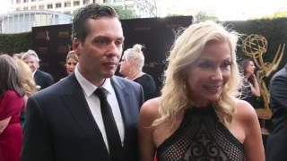 43rd Creative Arts Emmy Awards with Katherine Kelly Lang