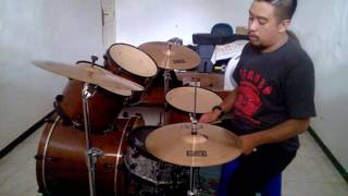 Lebih Dalam Kumenyembah tribute to Oxygen True Worshippers Youth (drum cover) - yesie yehezkiel