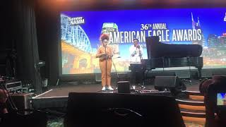Performance at the 36th Annual American Eagle Awards ft George Clinton ❤️❤️ and JaYa