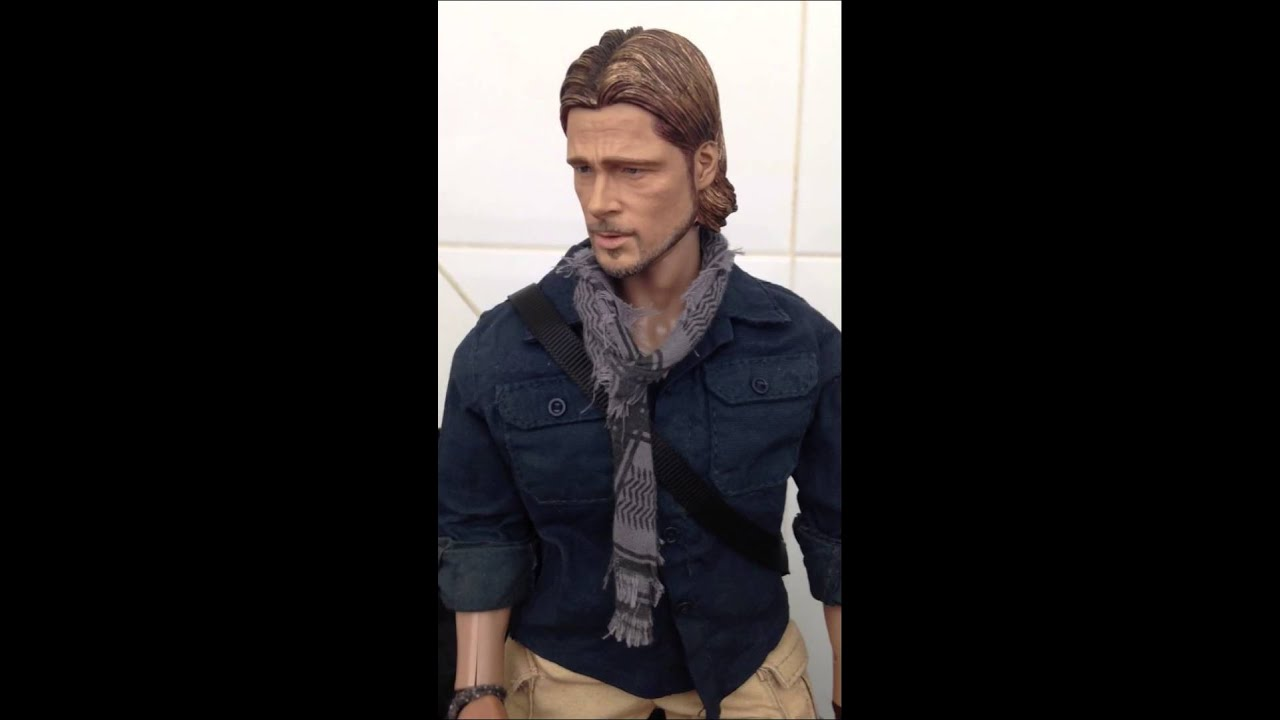 Jerry World War z Hot Toys Brad Pitt World War z