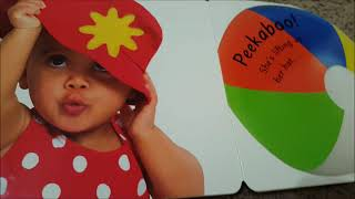 Baby says Peekaboo - Children's book read along - reading with toddler