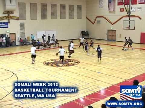 Somali Week 2013 : Somali Basketball Tournament Seattle, WA SOMTV