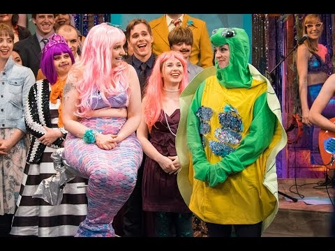 "Lena Dunham in ""Under the Sea Prom"" 