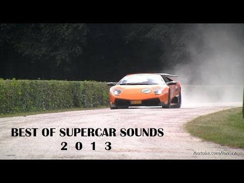 The BEST of Supercar Sounds 2013   22 Minute Compilation Video