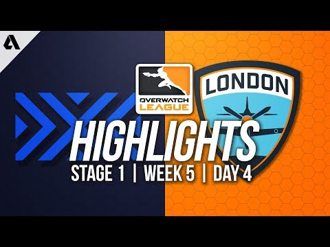 London Spitfire vs New York Excelsior | Overwatch League Highlights OWL Week 5 Day 4