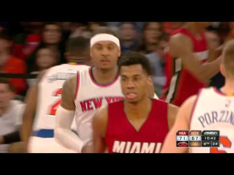 Miami Heat vs New York Knicks - February 28, 2016