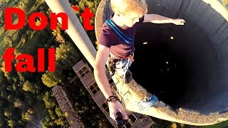 Incredible World War 2 Chimney Climb!/ Germany/ Gopro + Drone