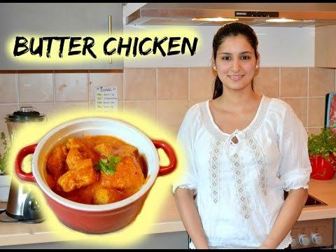 Butter chicken rezept