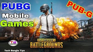 PUBG On Android Mobile Multiplayer Action Games - PUB'G New Mobile Games.